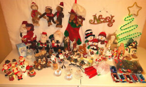 Christmas holiday season display indoor collection FIRST $60/ALL