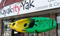 Brand New Winner Purity1 SOT Kayak w/paddle and delivery