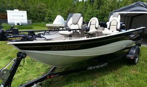 2005 Crestliner 1600 Angler SC with Evinrude 50HP Etec