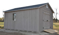 Quality Rustic Pine Sheds