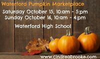 Waterford Pumpkin Market, Sat. Oct. 15 & Sun. Oct. 16