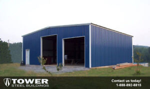 Steel Buildings for sale (virtually any size available)