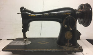 Antique Singer sewing machine for decoration