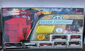 Vintage  cn  Electric train and rail cars