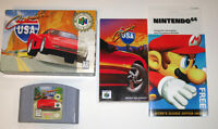 Crusin' USA N64 Complete in Box