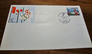 XXI Olympiad Montreal 1976 Souvenir 25 Issue Covers Kitchener / Waterloo Kitchener Area image 2