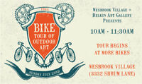 Outdoor Art and Bike Tour