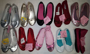 Older Girls Size 2, 3, 4 Shoes & Boots & Sandals & Sneaker etc.. London Ontario image 2