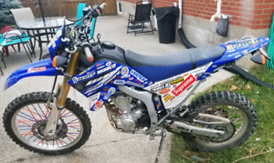 2015 WR250R  (street plated)