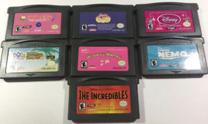 GBA Games, 7 Gameboy Advance games