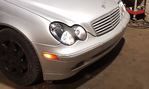 2003 Mercedes Benz C320 V6 with halo lights, $4500 OBO need gone
