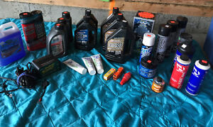 Dirt bike/Motorcycle 2-Stroke Oils, Cleaners & Battery Charger