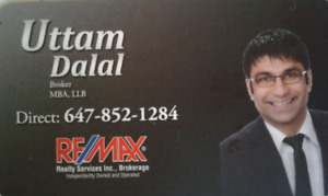 Uttam Dalal - Buying, Selling or Investing Real Estate