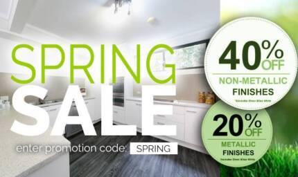 Splashback Panels for Kitchens, Bathrooms, Laundries & Outdoor Albury Albury Area Preview