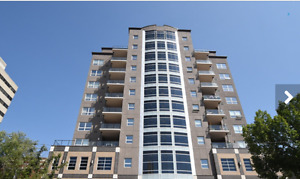 Furnished Downtown Regina Highrise Condo 2 Bedrooms 2 Bath +Den