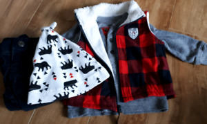 3 month Carter's outfit plus hat