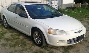CHRYSLER SEBRING ALL PARTS FOR SALE BEFORE SCRAP