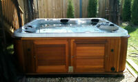 hot tub and spa delivery electrical work