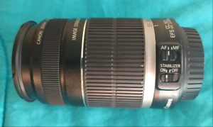 Canon lens 55-250mm