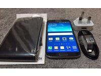 Samsung galaxy S4 Black 16GB on EE, T-Mobile, Orange and Vergin. U.K.