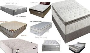 QUEEN SIZE PILLOW,EURO AND FLAT TOP MATTRESSES CANADA MADE FOR S