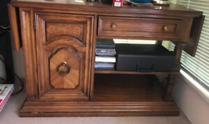 Wood hutch / cabinet