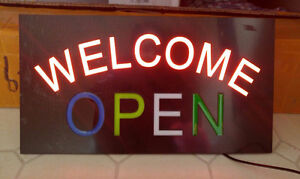 LED OPEN sign for sale $45