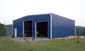 STEEL C-CHANNEL BUILDINGS-COMPLETE D.I.Y PACKAGES