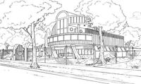 ARCHITECTURE / INTERIOR DESIGN: PERSPECTIVE & STRUCTURAL DRAWING
