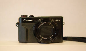 "CANON POWERSHOT G7X MKII 20.1MP 1""  4.2 x IS TILT"