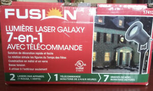 Fusion 7 in 1 laser galaxy light with remote (Brand New)