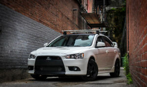 2012 Lancer Ralliart Wicked White