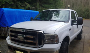 2006 Ford Super Duty Extended Cab 4x4 8 Foot Box