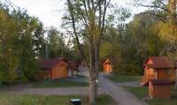 Job at the cottage resort