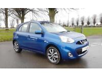 2015 65 Nissan Micra 1.2 Tekna with Navigation