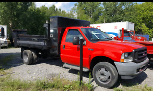 Ford f 550 dompeur 2002