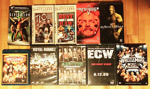 WWF / WWE DVD / VHS / BLU-Ray - Wrestlemania