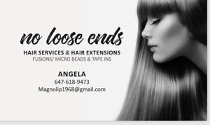 Hair services & Hair Extentions