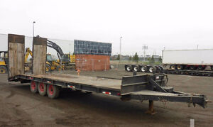 30ft Tri-axle trailer