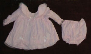 Baby girl dress, 6-9 months.