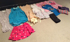 GIRLS 5/6T summer clothes (11items)
