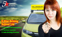 Best Lessons, Instructors and Price - 5 Star Driving School