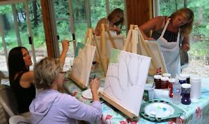 PaintnPitchers Paint parties at your Place Cambridge Kitchener Area image 5