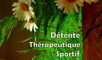 Massage détente  Massothérapie