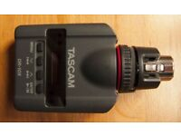 Tascam DR-10X Plug-On Micro Linear PCM Recorder (XLR) With Dual Recording Mode