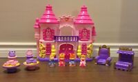 Princess Castle, figurines and accessories.