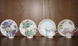Royal Albert tea cup /saucer & 2others $8 ea