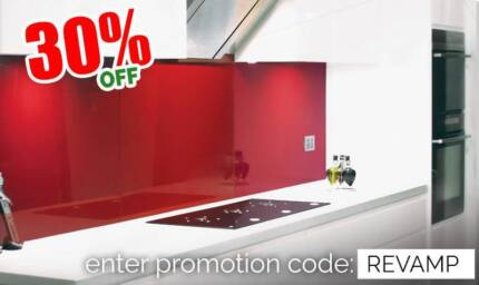Reflections Splashback for Kitchens, Bathrooms & Laundries