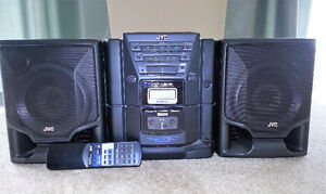 JVC Portable Stereo System