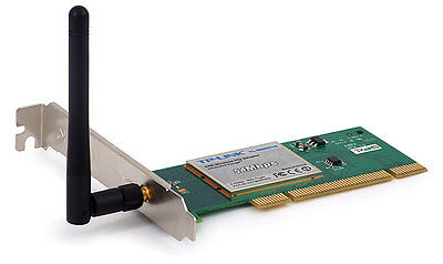 TP-LINK TL-WN551G PCI 11b/g Wireless Wifi Card